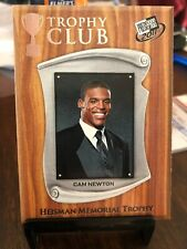 2011 PRESS PASS TROPHY CLUB CAM NEWTON ROOKIE CARD #57 RC