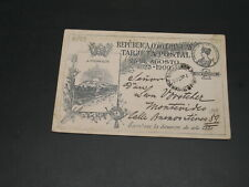 Uruguay 1900 postal card stains *6933
