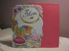 Carol's Rose Garden - Mother's Day - An embroidery w/sewing basket on the cover