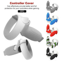 1pair Controller Grip Cover Easy Install Soft VR Accessories for Oculus Quest 2