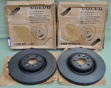 Genuine Volvo Boxed Front Brake Discs 30769057 (Pair) V60 V70 S60 S80