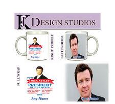 Rick Astley Personalised Fan Mug