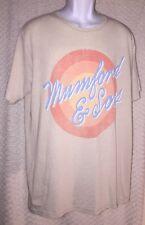 2012 MUMFORD & SONS Sun Script Concert Tour t-shirt size adult XL