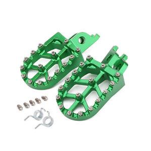 Foot Pegs Pedals Rests For KX250F KX450F 2007-2018 KLX450R 2008-2013 KX250 KX450