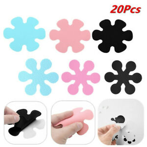 20Pcs 5/10cm Anti-slip Bathtub Decals Stickers Flower Bath Shower Treads for Tub