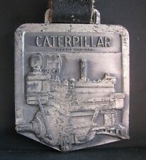 CATERPILLAR Cat Engine Pocket Watch Fob Vintage Collectible Peoria IL