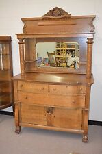 ANTIQUE English OAK  BUFFET Sideboard SERVER   * PRICE REDUCED!!*