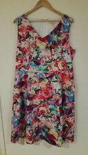 Diana Ferrari women's floral dress 16 BNWT