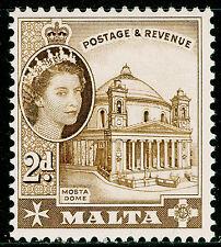 Malta SG270, 2d Marrón, NH Menta.