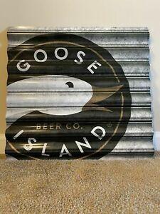 Goose Island Metal Beer Sign