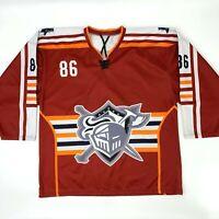 Kamagraf Hockey Jersey Mens XL Eckhardt #86 Knights Battle Born Nevada Sports