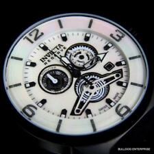Men Invicta Reserve Swiss Made Sea Vulture White MOP 47mm Chronograph Watch New