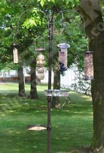NEW PREMIUM HAMMERTONE BIRD FEEDING STATION SET WITH FEEDERS WILD FEEDERS BIRDS!