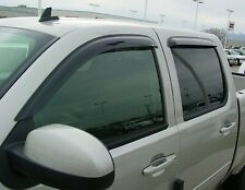 Chevrolet Suburban 2007 - 2014 Wind Deflector Vent Visor Shades 4pc