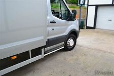 To Fit 2000 - 2006 Ford Transit MK6 Chassis Cab Tipper Pickup Side Bars Tubes