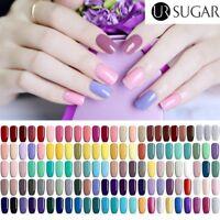 UV Gel Nail Polish Soak Off  Tipss Gel Varnish  Purple Pink Glitter