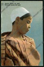 MAROCCO Maroc COSTUME 14 ETHNIC ETNIQUE FOLK SCENES TYPES Cartolina Postcard