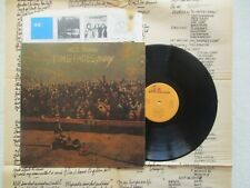 """LP 33T NEIL YOUNG """"Time fades away"""" + poster REPRISE 54.010 FRANCE #2 §"""