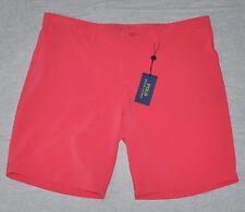 $75 NEW Polo Ralph Lauren Shorts 38 Men's XL X-Large Pink Salmon Polyester Flat