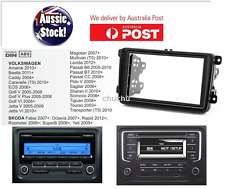 Fascia Facia Double-din VOLKSWAGEN VW Amarok Caddy EOS Golf TRANSPORTER Dash