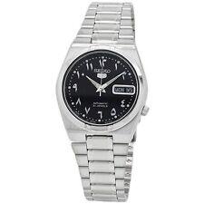 Seiko 5 Reloj Automático Dial Negro Acero Inoxidable SNK063J5