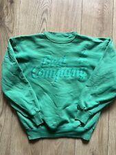 Best Company Green Sweatshirt In Size M. Vintage!