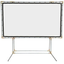Carl's FlexiWhite, 16:9, 6.75x12, FreeStanding Projector Screen Kit, White