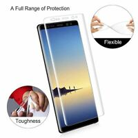 3D FULL COVERAGE TPU Screen Protector Cover Film for Samsung Galaxy Note 8