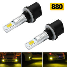 2x 880 899 Yellow 3000K Light 8000Lumen LED Bulbs Car Driving Fog Light Lamp