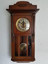 Schöne  Wanduhr Pendeluhr Regulator von Gustav Becker  ca 1913 guter Zustand