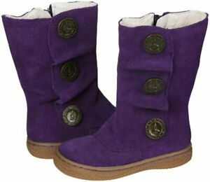 NIB LIVIE & LUCA Shoes Boots Marchita Tiempo Grape Purple Toddler 4