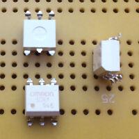 Relé MOSFET de estado sólido SPNO 120mA 400Vac SMD 2.5kV aislamiento Omron G3VM-401D