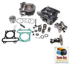 NEW BIG BORE CYLINDER BARREL KIT 80cc + HEAD FOR KYMCO FILLY LX LIKE 50 4T