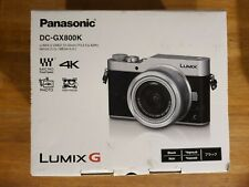 Panasonic Lumix DMC-GX800 Digital Camera with 12-32mm Lens in Silver