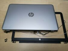 Genuine HP Envy 15-J Series LED LCD Screen TOP LID Cover + BEZEL & Hinges Cables