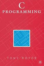 C Programming.by Royce, Tony  New 9780333638514 Fast Free Shipping.#