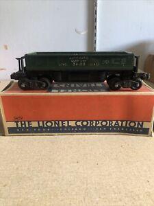 Vintage Lionel 3459 Postwar operating coal dump car (very good) W/ Orig. Box