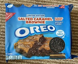 Oreos  Salted Caramel Brownie - USA Import UK Seller