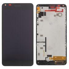 PANTALLA COMPLETA LCD + TACTIL + MARCO MICROSOFT LUMIA 640 XL / DUAL SIM NEGRO