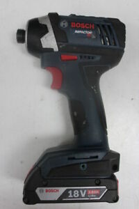 Bosch IDS181 18-volt 1/4-Inch Hex Compact Tough Impact Driver w/ 2.0Ah Battery