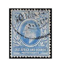 East Africa Uganda Protect. stamps 1903 EDWARD II 2,5 annas blue SG.4 used -F465
