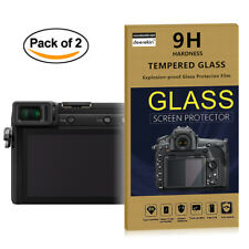 2x Tempered Glass HD Screen Protector for Panasonic GH5 G80 GX85 GF9 LX10 LX100