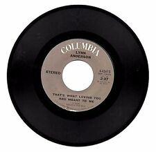 LYNN ANDERSON - Listen To A Country Song / That Is What Loving You Has Meant To
