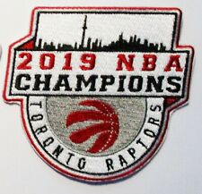 1) 2019 NBA CHAMPIONS TORONTO RAPTORS EMBROIDERED PATCH PATCHES (TYPE B) # 128