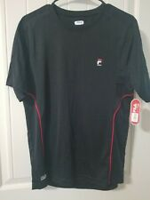Nwt Fila Men's Active Sport T Shirt - S Navy