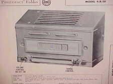 1949 1950 DODGE WAYFARER CORONET MEADOWBROOK PLYMOUTH AM RADIO SERVICE MANUAL