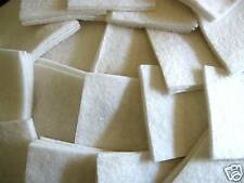 "300 Cotton Quilt Batting 4""Sqrs. Perfect For Rag Quilts"