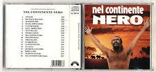 Cd NEL CONTINENTE NERO – PERFETTO 1992 OST Manuel De Sica Colonna sonora film