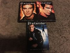 THE PRETENDER SEASONS 2-4, DVD, VG-GREAT SHAPE