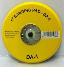 """6"""" (150mm) Dual Action DA Random Orbital Sanding Backing Vinyl pad for PSA discs"""